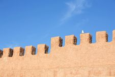 Fortress Wall Stock Images
