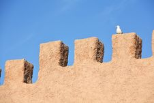 Fortress Wall Royalty Free Stock Images