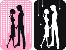 Free Pair Of Falling In Love Royalty Free Stock Image - 7778976