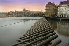 Free Prague By Night Royalty Free Stock Photos - 7779128