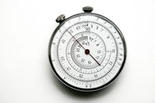 Free Unique Retro Round Slide Rule Royalty Free Stock Photo - 7779305