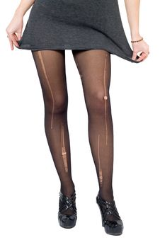 Free Female Legs In The Torn Stockings Stock Photos - 7779553