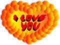 Free I Love You Heart Stock Photos - 7780823