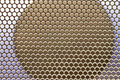 Free Bee Hive Shaped Background Stock Image - 7781791