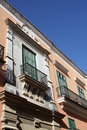 Free Balconies In A Vintage Old Havana Building Royalty Free Stock Images - 7782999