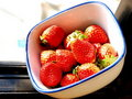 Free Red Strawberries On Bowl Stock Photos - 7786403