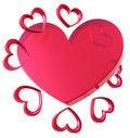 Free Valentine Hearts Royalty Free Stock Photos - 7787418