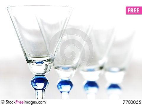 Wineglasses Stock Photo