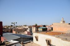 Free Roofs Of Marrakech Royalty Free Stock Photo - 7780835