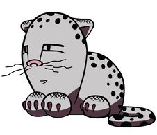 Cartoon Cat. Stock Photography