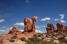 Free Arches National Park Stock Photography - 7781262