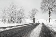 Free Winter Road Stock Photos - 7781263