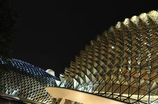 Free Esplanade_Night Royalty Free Stock Images - 7781279
