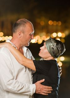 Free Senior Couple In Love Royalty Free Stock Photos - 7781288