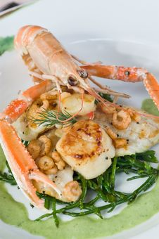 Langoustine And Scallops
