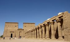 Free Philae Temple Stock Photography - 7782672
