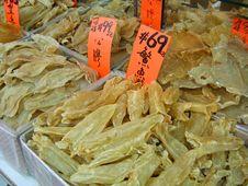 Chinatown Fish Bladders Stock Photo