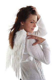 Girl Like An Angel Stock Photos