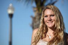 Free Woman Smiling Stock Image - 7783991