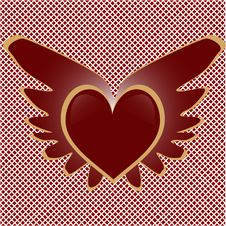 Free Winged Heart Stock Images - 7784034