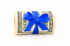 Free Money Gift Royalty Free Stock Photos - 7784218