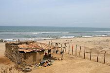 Free Beach Shanty Royalty Free Stock Photo - 7784325
