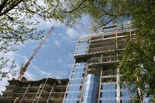 Free Construction Of Tall Buildings Royalty Free Stock Image - 7784546