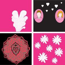 Free Valentine Card Designs Royalty Free Stock Photos - 7784678