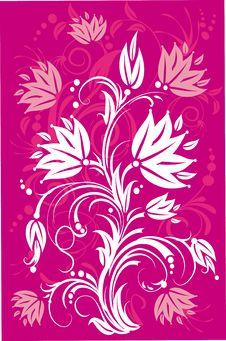 Free Stylized Flowers. Stock Image - 7784911