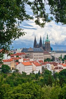 Free View Of The Center Of Prague Royalty Free Stock Image - 7785006