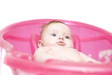 Free Baby In Bath Stock Photos - 7785023