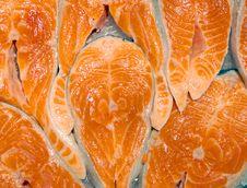 Free Crude Fillet Of A Salmon Stock Photos - 7785063