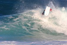 Free Bodyboarder ARS Royalty Free Stock Image - 7785096
