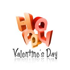Free Happy Valentine S Day Illustrated Types I Stock Image - 7785101