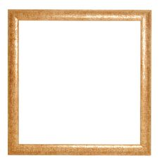 Free Golden Frame Stock Photography - 7785172
