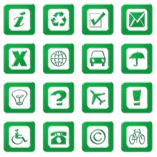 Free Web Icons Royalty Free Stock Photo - 7785225