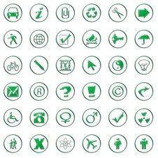 Free Web Icons Stock Images - 7785354