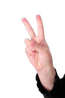 Free Hand Sign Stock Photo - 7785880