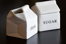 Free Cream And Sugar Royalty Free Stock Images - 7785889