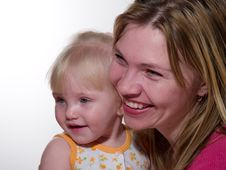 Free Mother And Daughter Smile Stock Image - 7786261