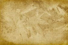 Free Vintage Leaf Imprint Background Stock Image - 7786711