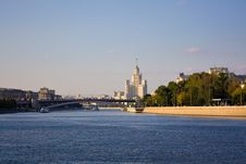 Free Moscow River Stock Image - 7787321