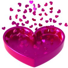 Free Valentine Hearts Royalty Free Stock Photo - 7787425