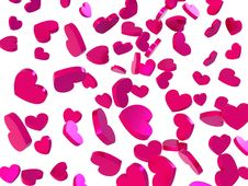 Free Raining Valentines Royalty Free Stock Photography - 7787527