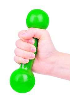 Free Dumbbell Stock Images - 7787654