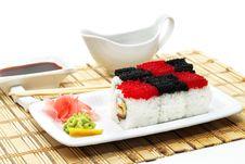Free Japanese Cuisine - Rolls Chess Stock Photos - 7788813