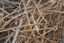 Free Rebar Remainders Stock Images - 7788914