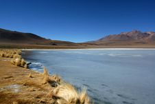 Free Frozen Lake In Desert Stock Images - 7789074