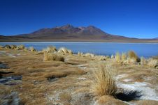 Free Frozen Lake In Desert Stock Images - 7789094