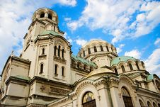 Free The Alexander Nevsky Cathedral Royalty Free Stock Photography - 7789187